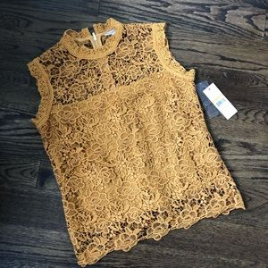 Nanette Lepore Lace Top - NWT